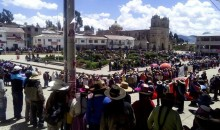 Contundente paralización de 48 horas en Chumbivilcas contra autoridad municipal