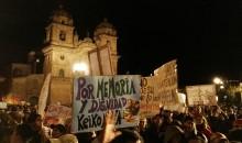 Galería de fotos de la marcha nacional del 5 de abril contra Keiko Fujimori