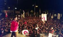 Cusqueña Verónika Mendoza realizó mitin de cierre de campaña en Cusco