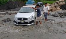 Emergencia en la localidad de Kiteni por la crecida del río Progreso
