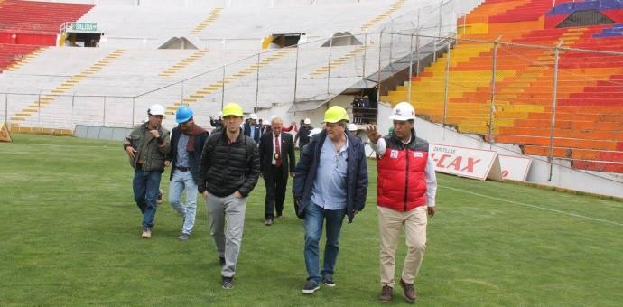 Declaran apto el estadio Garcilaso para encuentros del fútbol profesional peruano