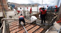 Avanza construcción de la moderna educativa del Colegio Daniel Estrada Perez