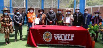 Las Bambas firma acuerdo de cooperación interinstitucional con el distrito de Velille