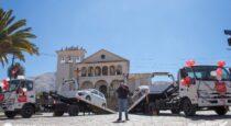 Adquieren dos camiones grúa en San Jerónimo para poner orden en el tránsito vehicular
