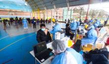 14 890 personas de 40 a 49 años se vacunaron hoy en la etapa de rezagados