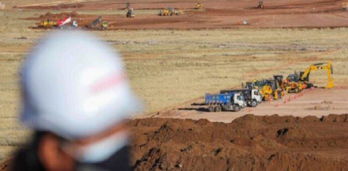 Remoción de tierras del aeropuerto de Chinchero tiene avance del 21.49 %