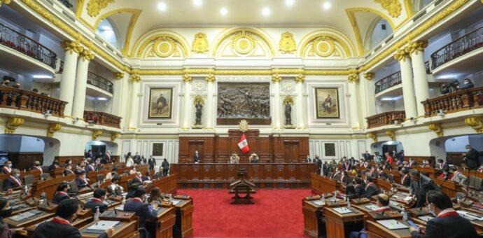 Congreso aprueba ley inconstitucional que recorta facultades del Poder Ejecutivo