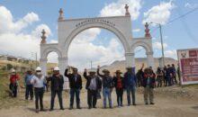 Autoridades de Chamaca inauguraron el asfaltado de 9 calles y avenidas del distrito