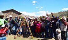 Inician proyecto de saneamiento básico en el anexo de Curahuata de Santo Tomás