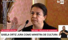 Representante de los familiares de las víctimas de La Cantuta juró como Ministra de Cultura